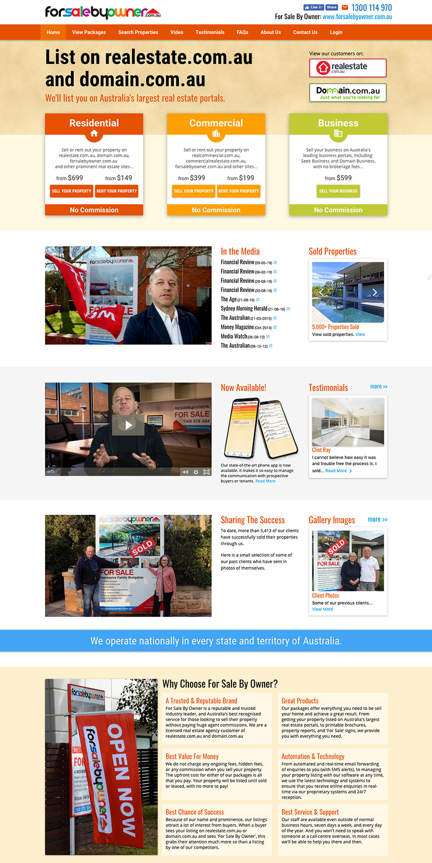 Advertise on other real estate websites
